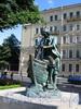 Памятник Петру I на Адмиралтейской набережной («Царь-плотник»). Фото июль 2009 г.