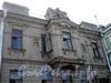 Петроградская наб., д. 8 (средний корпус). Особняк Н.Ф. Крупенникова . Фрагмент фасада. Фото август 2009 г.