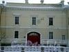 Наб. реки Мойки, д. 96. Здания Военной коллегии. Центральная часть фасада. Фото январь 2010 г.