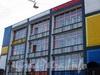 Наб. реки Мойки, д. 102. Хостел «Graffiti» после проведения ежегодного фестиваля «ГРАФФИТИ АРТ-ФЕСТ». Фрагмент фасада. Фото сентябрь 2009 г.