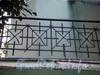 Наб. реки Мойки, д. 118. Решетка бокового балкона. Фото сентябрь 2009 г.