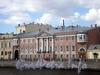 Наб. реки Фонтанки, д. 18. Дом Пашковых. Фасад здания. Фото май 2009 г.