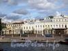 Наб. реки Фонтанки, д. 34. Шереметевский дворец («Фонтанный дом») и флигеля. Фото август 2009 г.