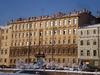 Наб. реки Фонтанки, д. 105. Доходный дом В. И. Епифанова. Фасад здания. Фото февраль 2010 г.