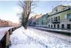 Перспектива четной стороны набережной канала Грибоедова от дома 174 в сторону Коломенского моста. Фото 2004 г. (из книги «Старая Коломна»)