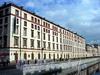 Наб. канала Грибоедова, д. 9 / Чебоксарский пер., д. 2. Фасад здания по набережной канала Грибоедова.