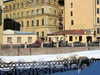 Наб. реки Мойки, д. 9. Флигель и службы усадьбы А. И. и М. Ф. Штакеншнейдеров (А. Н. Бетлинга). Фото март 2010 г.
