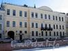 Наб. реки Мойки, д. 16. Особнякжадимировских (Н. Е. Демидовой). Фасад здания. Фото март 2010 г.
