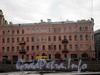 Наб. реки Фонтанки, д. 66 / ул. Ломоносова, д. 12. Доходный дом  М. П. Кудрявцевой. Фасад по набережной. Фото март 2010 г.