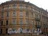 Наб. реки Фонтанки, д. 68 / ул. Ломоносова, д. 7. Угловая часть фасада здания. Фото март 2010 г.