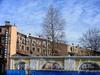 Наб. канала Грибоедова, д. 28 / ул. Ломоносова, д. 1. Фрагмент фасада. Вид со двора. Фото 2004 г.