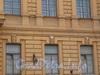 Петроградская наб., д. 32. Особняк К.К. Шредера. Фрагмент фасада. Фото апрель 2010 г.