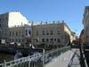 Наб. реки Мойки, д. 86 / Прачечный пер., д. 2. Дом О. Монферрана. Общий вид. Фото июнь 2010 г.