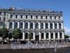 Наб. реки Мойки, д. 89 / Исаакиевская пл., д. 13. Фасад по набережной. Фото июнь 2010 г.