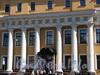 Наб. реки Мойки, д. 94. Юсуповский дворец. Шестиколонный портик. Фото июнь 2010 г.