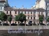 Наб. реки Мойки, д. 95. Дом С. Крамера (Г. А. Лепена). Корпус по набережной. Фасад здания. Фото июнь 2010 г.