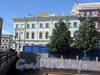 Наб. реки Мойки, д. 101 / Почтамтский пер., д. 10. Дом А.П. Козлова (Гурьева). Фасад по набережной. Фото июнь 2010 г.
