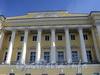 Английская наб., д. 2. Здание Сената (Конституционного суда). Колонны коринфского ордера. Фото июнь 2010 г.