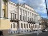 Английская наб., д. 4. Здание Конституционного суда РФ. Фасад здания. Фото июнь 2010 г.