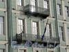 Английская наб., д. 12. Балконы. Фото июнь 2010 г.