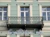 Английская наб., д. 12. Решетка балкона. Фото июнь 2010 г.