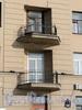 Английская наб., д. 18. Балконы. Фото июнь 2010 г.