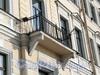 Английская наб., д. 20. Решетка балкона. Фото июнь 2010 г.
