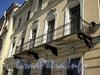 Английская наб., д. 24. Решетка балкона. Фото июнь 2010 г.