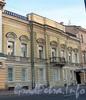 Английская наб., д. 46. Особняк И. Булычева (С. Б. Кафталя). Фасад здания. Фото июнь 2010 г.