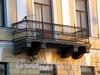 Английская наб., д. 52. Решетка балкона. Фото июнь 2010 г.