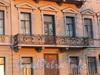 Английская наб., д. 62. Решетка балкона. Фото июнь 2010 г.