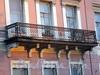 Английская наб., д. 66. Решетка балкона. Фото июнь 2010 г.