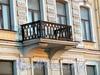 Английская наб., д. 70. Решетка балкона. Фото июнь 2010 г.