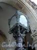 Дворцовая наб., д. 26. Дворец великого князя Владимира Александровича (Дом ученых). Плафон фонаря в аркаде парадного подъезда. Фото июнь 2010 г.