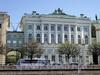 Дворцовая наб., д. 36. Здание Малого Эрмитажа. Общий вид. Фото июнь 2010 г.