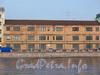 Пироговская наб., 11. Фасад производственного здания. Вид с Петроградской набережной. Фото апрель 2010 г.