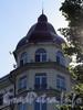 Наб. Мартынова, д. 4. Угловая башня. Фото июнь 2010 г.