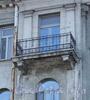 Наб. Мартынова, д. 6. Решетка балкона. Фото июнь 2010 г.