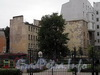 Наб. Мартынова, д. 6. Вид на дворовые корпуса с Кемской улицы. Фото сентябрь 2010 г.