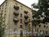 Наб. Мартынова, д. 12. Корпус по Динамовской улице. Вид со двора. Фото сентябрь 2010 г.