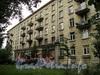 Наб. Мартынова, д. 12. Фасад по Динамовской улице. Фото сентябрь 2010 г.