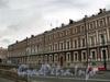 Наб. Кутузова, д. 2 / Литейный пр., д. 1. Фасад по набережной. Вид от Кричевского переулка. Фото сентябрь 2010 г.