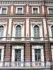 Наб. Кутузова, д. 2. Фрагмент фасада. Фото сентябрь 2010 г.