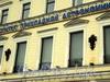 Наб. Кутузова, д. 10. Фрагмент фасада. Фото сентябрь 2010 г.
