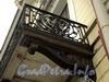 Наб. Кутузова, д. 10. Кронштейн балкона. Фото сентябрь 2010 г.