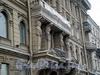 Наб. Кутузова, д. 18. Доходный дом Д.Д. Орлова-Давыдова. Атланты. Фото апрель 2009 г.