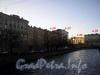 Наб. реки Карповки, д. 22. Вид дома от Силина моста. Фото 2006 г.