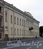 Наб. Кутузова, д. 36 / наб. реки Фонтанки, д. 2. Фасад по набережной Кутузова. Фото сентябрь 2010 г.