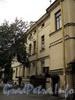 Наб. Кутузова, д. 36. Вид со двора. Фото сентябрь 2010 г.