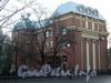 Наб. реки Карповки, д. 43. Общий вид здания с ул. Попова. Фото 2006 г.